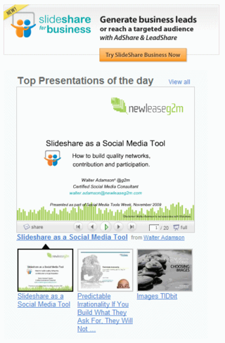 Slideshare-top-presentation-of-day