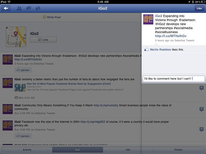 Facebook-iPad-new-app-how-to-comment